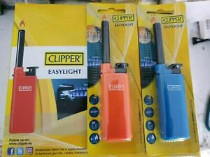Tube mini Clipper Easylight Utility Lighters BBQ Candles Hobs Lighter Refillable