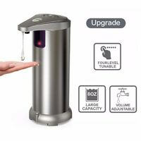 Touchless Stainless Steel Soap Dispenser Automatic IR Sensor 250 ML Hand Free