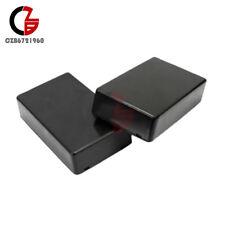5PCS 100x60x25mm Black Plastic Project Electronic Instrument Case Enclosure Box