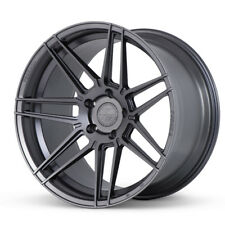 """20"""" FERRADA F8-FR6 GRAPHITE CONCAVE WHEELS RIMS FITS FORD MUSTANG GT GT500"""