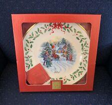Lenox 2001 Annual Holiday Christmas Collector Plate Santa's Holiday Parade Nib