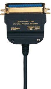 Tripplite Usb To Parallel Adapter, 6ft. (u206006r) (u206-006-r)