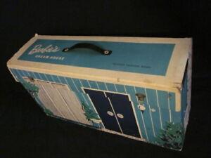 BARBIE'S DREAM HOUSE (ORIGINAL)  VINTAGE 1962 ALL CARDBOARD - INTACT - MATTEL