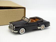 Ma Collection Brianza Résine 1/43 - Hotchkiss Gregoire Cabriolet Noire