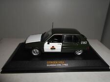 CITROEN VISA GUARDIA CIVIL 1982 COLECCION POLICIA ALTAYA IXO 1/43