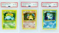 Mint Charizard Blastoise Venusaur Pokemon Cards Base Set Collection Holos /102