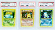 Mint Charizard Blastoise Venusaur Pokemon Cards Base Set Collection Holos /102