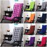 Hochlehner Auflagen Farben zur Wahl Sessel hoch Gartenstuhl Kissen Sitzkissen