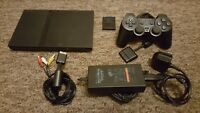 PS2 Sony Playstation 2 Slim Console - Tested and Working - Bundle XMAS GIFT