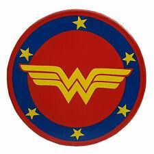 """Halloween Super Hero Wonder Woman Shield 22"""" Wooden Shield Role Play fancy Gift"""