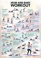 Postnatal Exercise Plan, 20 Exercises for Mum with Baby