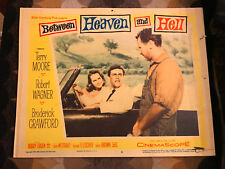 Between Heaven And Hell 1956 2oth Century Fox war lobby card Terry Moore Robert