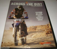 ACROSS THE DIRT DVD w/ HILL CLIMB-MOTOCROSS-ENDURO-TRIALS-SUPERMOTO, NEW SEALED