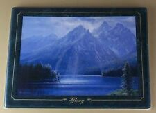 Mountain Majesty Glory Plate Peter Ellenshaw #3 Bradford Exchange Mountains