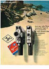 PUBLICITE  1966   AGFA   MOVEX automatic super 8 caméra