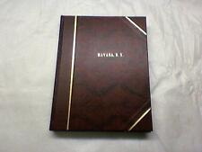 HISTORY OF HAVANA, SCHUYLER Co. N.Y.  ED ILLUS COMPILED BY W.E. MORRISON H.B.