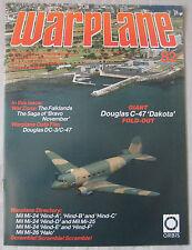 Warplane magazine Issue 82 Douglas DC-3/C-47 'Dakota' cutaway drawing & poster