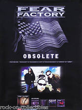 Fear Factory 1998 Obsolete Original Promo Poster