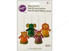 NEW WILTON JUNGLE PALS  CAKE POP PIXS  (8)