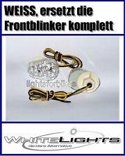 weisse LED Verkleidungs Blinker Kawasaki Z 750 Z 1000 clear fairing signals