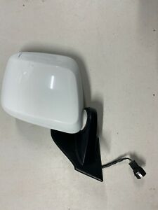 Nissan NV200 Chevy City Express Driver Side Mirror Power White Folding OEM
