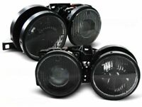 BMW E30 3 SERIES SMOKED HEADLIGHTS HEADLAMPS 11/1982 - 10/1994 H1 PROJECTOR