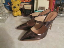 Schutz Nicolly Pointy Toe Mule Heels Patent Leather Size: 8 B NWOB