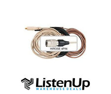 Galaxy Audio Cblat Replacement Cable Wired For Audio-Technica 4-pin Hirose