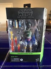Star Wars The Black Series BOBA FETT - Return of the Jedi - Deluxe 6