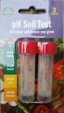 Garland pH Soil Test (2 Tests) Tester Kit Garden Plants Growing