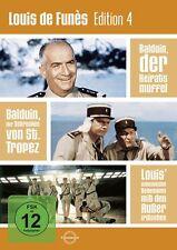 Louis de Funès Edition 4 3x DVD-5 Balduin der Heiratsmuffel: Louis de Funès Je..