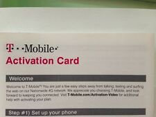 T-Mobile USA (TMobile T Mobile) Prepaid Activation Code sent by Email