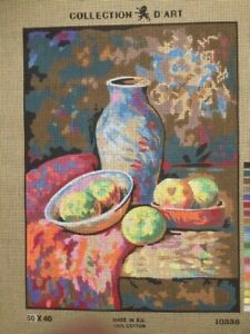 Tapestry - Printed Canvas - Stil Life - Made in EU - Collection D'Art