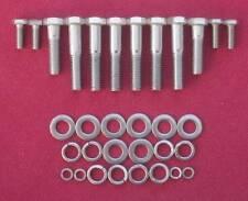 ESSEX INOX RICOSTRUZIONE 10 x TESTA ESAGONALE KIT CAPRI V6