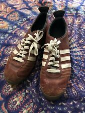 Addidas Chile 62 Retro Leather Reddish Brown Size 8