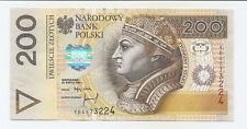 Poland 200 zloty 1994 P-177a 1994 UNC YB,YC series replacement
