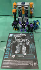 Transformers Earthrise - War For Cybertron Airwave w/S5 & S32 Micromasters Lot