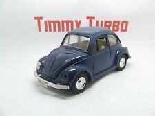 VW VOLKSWAGEN CLASSIC BEETLE IN BLUE OPENING DOORS & BONNETT 135 MM BY 56 MM
