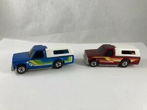 Vintage Hot Wheels 1984 Blue X-15 Crack-Up Pick Up Truck
