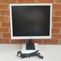 "Quantity 1, Fujitsu 19"" inch Monitor, DVI-D, VGA D-SUB, Height Adjust, Rotate"