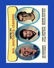 New listing 1971-72 Topps Set Break # 5 Shutouts Leaders NM-MT OR BETTER *GMCARDS*