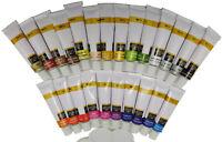 Acrylfarbe Set 24 Tuben a 12 ml Künstlerfarbe Malen blau grün gelb rot 48,58€/L