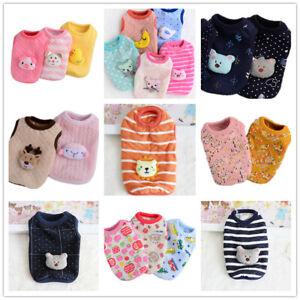 Size XXXS XXS XS Dog Hoodie Cat Puppy Clothes Pet PJ's Coat Sweater for Yorkie