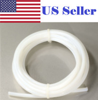 NEW 2M PTFE Teflon Tube 2mm ID 4mm OD For 1.75mm Filament 3D Printer RepRap US
