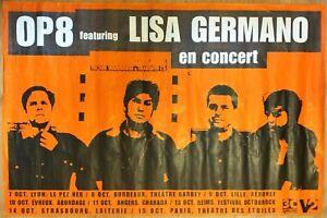 Poster OP8 Lisa Germano IN Concerto - 75 X 120 CM