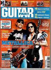"GUITAR PART #172 ""Metallica,Rondat,ZZTOP,Satriani,Offspring"" (REVUE+DVD)"