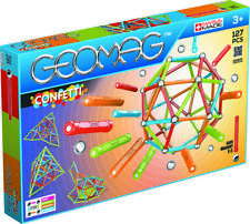 Geomag Special Edition 60 Teile PCS New Magnetic Gear 81 Teile Magnetbaukasten