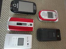 SAMSUNG ZTE Phone GSM Unit Engineering LOT x 5 SCH R 500T A 720 950 B 5310 corby
