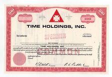 SPECIMEN - Time Holdings, Inc. Stock Certificate