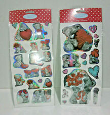 TATTY TEDDY ROMANTIC LOVE STICKERS 2 Styles HEARTS FLOWERS Me to You HOLOGRAPHIC
